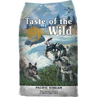 Taste of the Wild Pacific Stream Puppy Formula Grain-Free Dry Dog Food, 30-lb bag