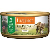 Instinct by Nature's Variety Original Grain-Free Real Lamb Recipe Canned Cat Food, 5.5-oz, case of 12