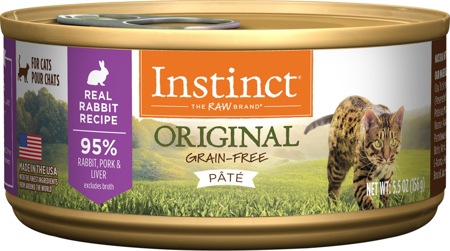 Instinct Grain Free Recipe Natural Wet Canned Cat Food