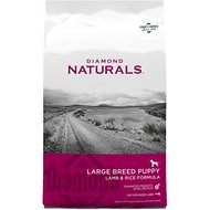 Diamond Naturals Large Breed Puppy Formula Dry Dog Food, 40-lb bag