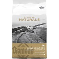 Diamond Naturals Light Formula Dry Dog Food, 15-lb bag