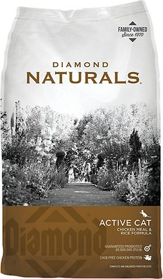 1. Diamond Naturals Active Chicken Meal and Rice Recipe