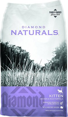 7. Diamond Naturals Kitten Formula Dry Cat Food