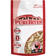 PureBites Chicken Breast Freeze-Dried Dog Treats, 3-oz bag