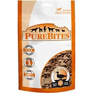 PureBites Duck Liver Freeze-Dried Dog Treats, 2.6-oz bag
