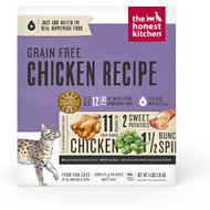 The Honest Kitchen Grain-Free Chicken Recipe Dehydrated Cat Food, 4-lb box
