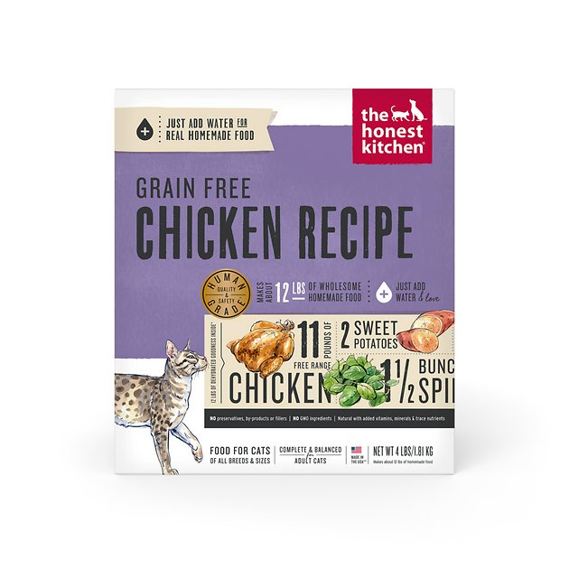 The Honest Kitchen Chicken Recipe Cat Food