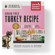 The Honest Kitchen Grain-Free Turkey Recipe Dehydrated Cat Food, 2-lb box