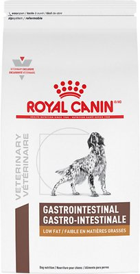 Royal Canin Gastro >> Royal Canin Veterinary Diet Gastrointestinal Low Fat LF Dry Dog Food, 17.6-lb bag - Chewy.com