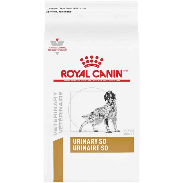Royal Canin Veterinary Diet Urinary So Dry Dog Food 17 6 Lb Bag