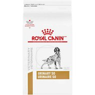 Royal Canin Veterinary Diet Urinary SO Dry Dog Food, 25.3-lb bag