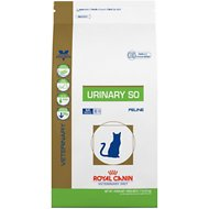 Royal Canin Veterinary Diet Urinary SO Dry Cat Food, 17.6-lb bag