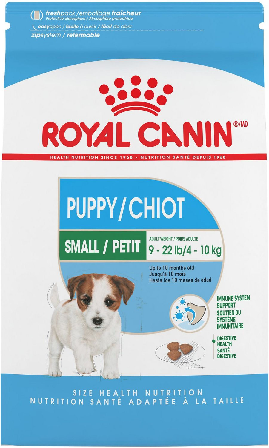 ROYAL CANIN Small Puppy Dry Dog Food (Free Shipping) | Chewy