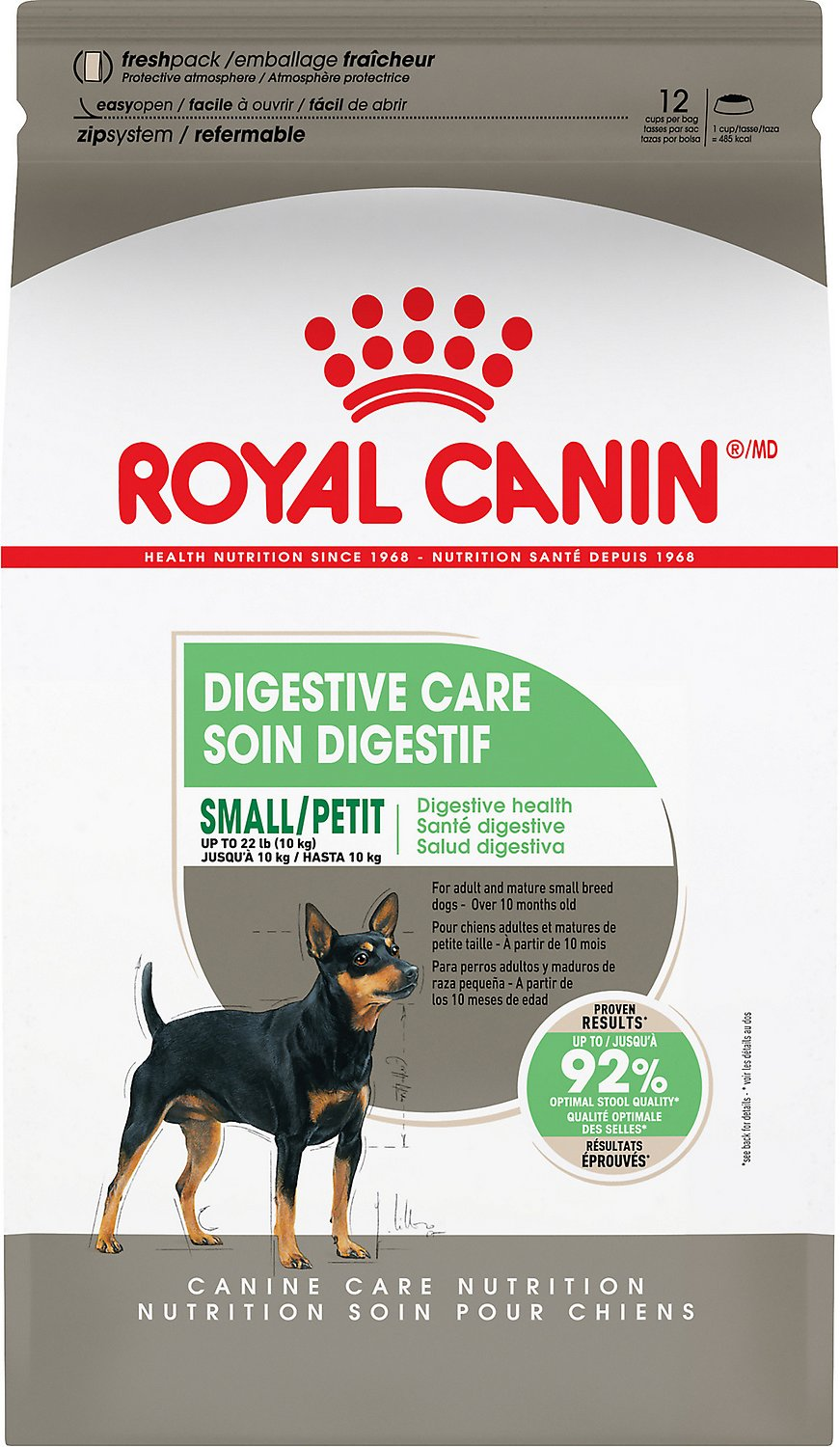 Royal Canin Small Digestive Care Dry Dog Food 17 Lb Bag Chewy Com