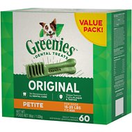 Greenies Petite Dental Dog Treats, 60 count