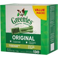 Greenies Teenie Dental Dog Treats, 130 count