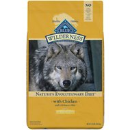 Blue Buffalo Wilderness Healthy Weight Chicken Recipe Grain-Free Dry Dog Food, 24-lb bag