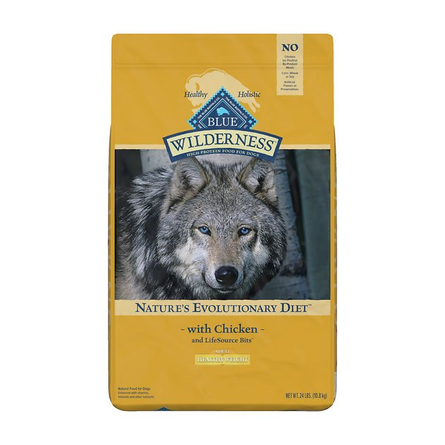 Blue Wilderness Grain Free Healthy Weight Dog Food