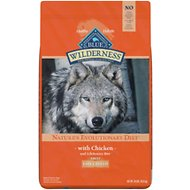 Blue Buffalo Wilderness Large Breed Chicken Recipe Grain-Free Dry Dog Food, 24-lb bag