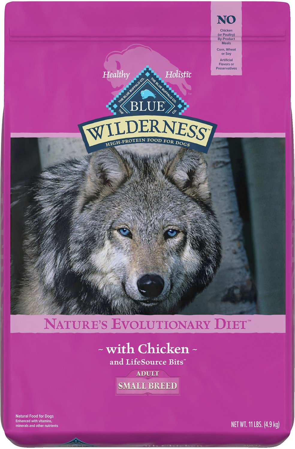 blue wilderness small breed dog food