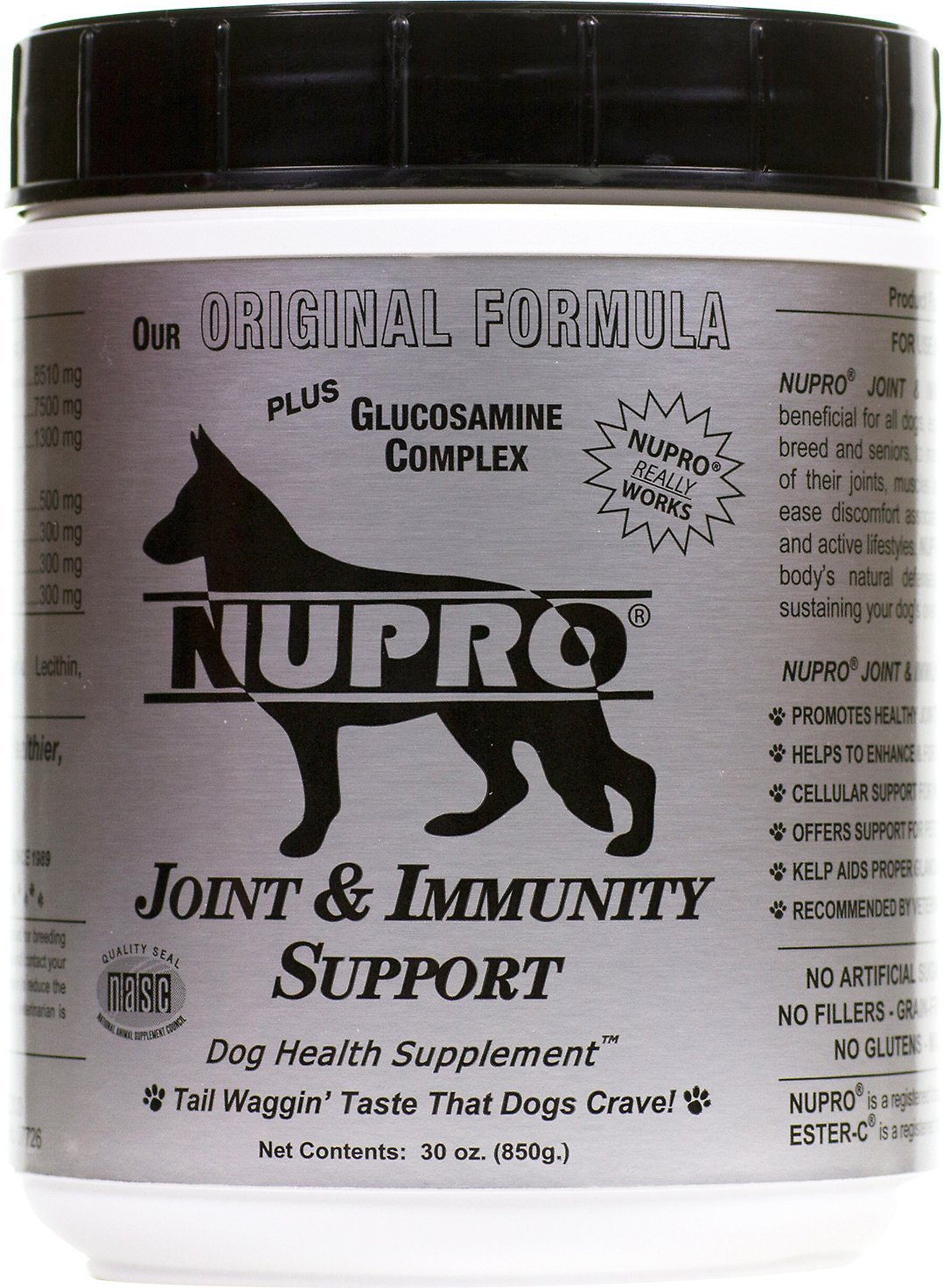 Nupro All Natural Joint Immunity Support Dog Supplement