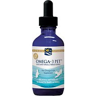 Nordic Naturals Omega-3 Pet Cats & Small Breed Dog & Cat Supplement, 2-oz bottle
