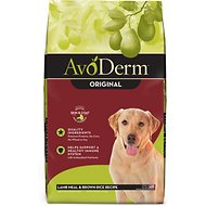 AvoDerm Natural Lamb Meal & Brown Rice Formula Adult Dry Dog Food, 26-lb bag