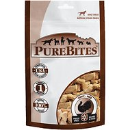 PureBites Turkey Breast Freeze-Dried Raw Dog Treats, 2.47-oz bag