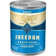 Blue Buffalo Freedom Adult Chicken Recipe Grain-Free Canned Dog Food, 12.5-oz, case of 12