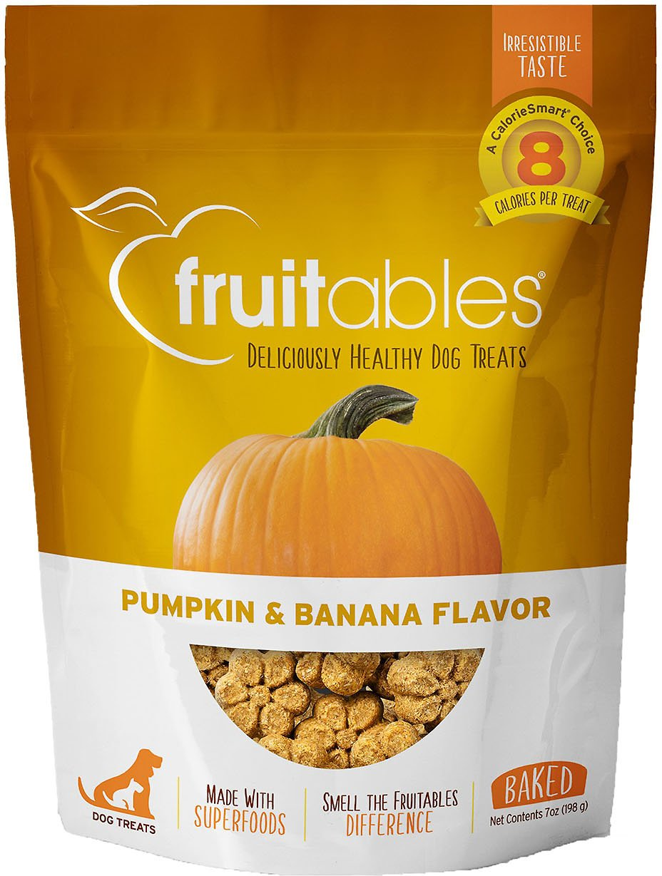 Fruitables Pumpkin Amp Banana Flavor Crunchy Dog Treats 7