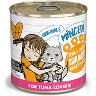 BFF Tuna & Salmon Soulmates Dinner in Gelee Canned Cat Food, 10-oz, tray of 12