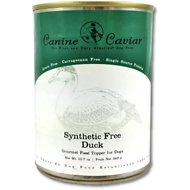Canine Caviar Duck & Sweet Potato Grain-Free Canned Dog Food Topper, 12.7-oz, case of 12