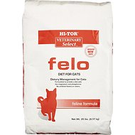 HI-TOR Veterinary Select Felo Diet Dry Cat Food, 20-lb bag