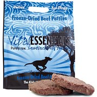 Vital Essentials Beef Entree Patties Grain-Free Freeze-Dried Raw Dog Food