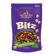 Old Mother Hubbard Bitz Assorted Flavors Crunchy Baked Dog Treats, 8-oz bag