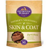 Old Mother Hubbard Mother's Solution's Skin & Coat Soft & Chewy Dog Treats, 6-oz bag