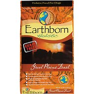 Earthborn Holistic Great Plains Feast Grain-Free Natural Dry Dog Food, 14-lb bag