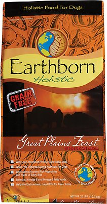 8. Earthborn Holistic Great Plains Feast Natural Dry Dog Food