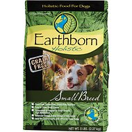 Earthborn Holistic Small Breed Natural Grain-Free Dry Dog Food, 5-lb bag