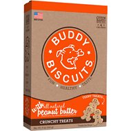 Buddy Biscuits Teeny Treats with Peanut Butter Oven Baked Dog Treats