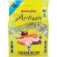 Grandma Lucy's Artisan Grain-Free Chicken Freeze-Dried Dog Food, 10-lb bag