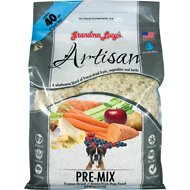 Grandma Lucy's Artisan Grain-Free/Freeze-Dried Dog Food Pre-Mix, 8-lb bag