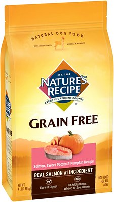 4. Nature's Recipe Grain-Free Dry Dog Food