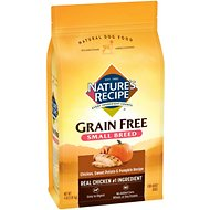 Nature's Recipe Small Breed Grain-Free Chicken, Sweet Potato & Pumpkin Recipe Dry Dog Food, 4-lb bag
