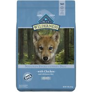 Blue Buffalo Wilderness Puppy Chicken Recipe Grain-Free Dry Dog Food, 11-lb bag