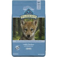 Blue Buffalo Wilderness Puppy Chicken Recipe Grain-Free Dry Dog Food, 24-lb bag