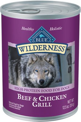 2. Blue Buffalo Wilderness Grain-Free Canned Food