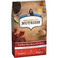 Rachael Ray Nutrish Natural Beef, Pea, & Brown Rice Recipe Dry Dog Food, 28-lb bag