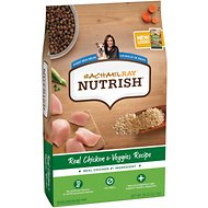 Rachael Ray Nutrish Natural Chicken & Veggies Recipe Dry Dog Food, 28-lb bag