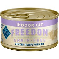 Blue Buffalo Freedom Indoor Adult Chicken Recipe Grain-Free Canned Cat Food, 3-oz, case of 24